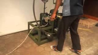 Mesin Roll Serbaguna untuk Pipa Bulat, Kotak, Siku, Plat dan besi beton