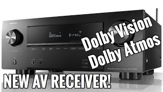 New 4K AV Receiver! | Denon AVR-X2600H Review and Unboxing