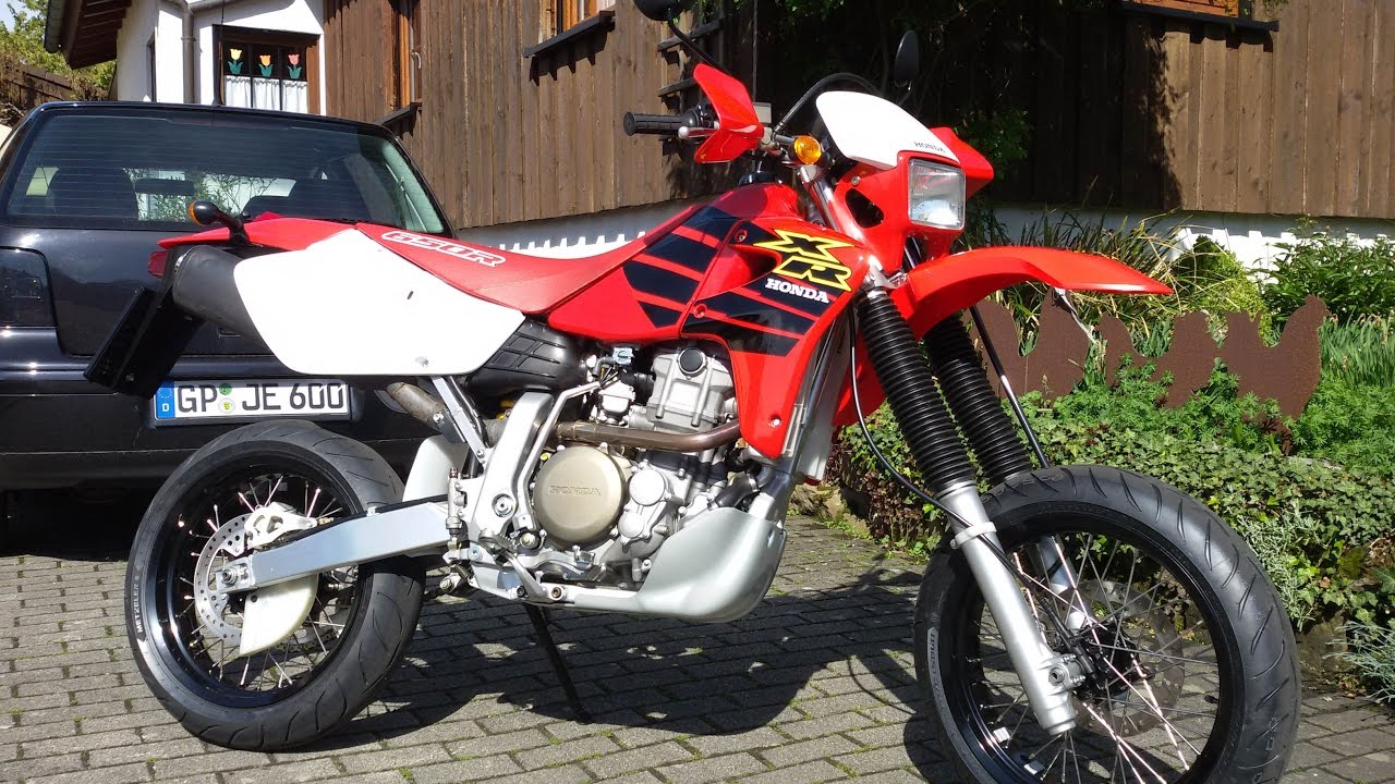Honda XR650R Supermoto - YouTube