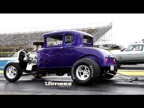 Tim Reisen S Bad Blown 30 Ford Model A 5 Window Coupe At Byron