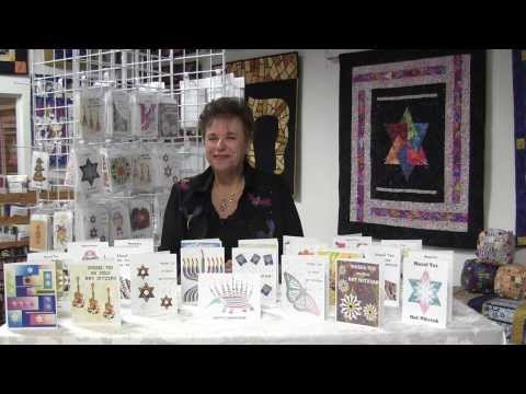 Bar & Bat Mitzvah and Hannukah Cards From Fay Nicoll Judaica Designs