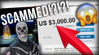 BUYING A SKULL TROOPER FORTNITE ACCOUNT | I GOT SCAMMED ?!