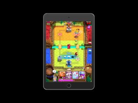 Clash Royale геймплей (gameplay) HD качество