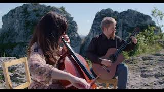 J. Brahms - Wie Melodien zieht es mir for cello and guitar / Duo Vitare