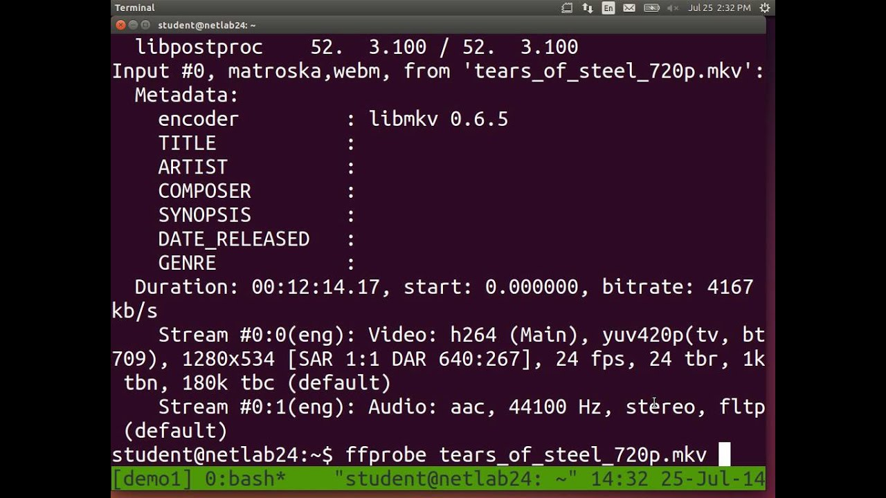 Linux Command Line - PdfTK and FFmpeg