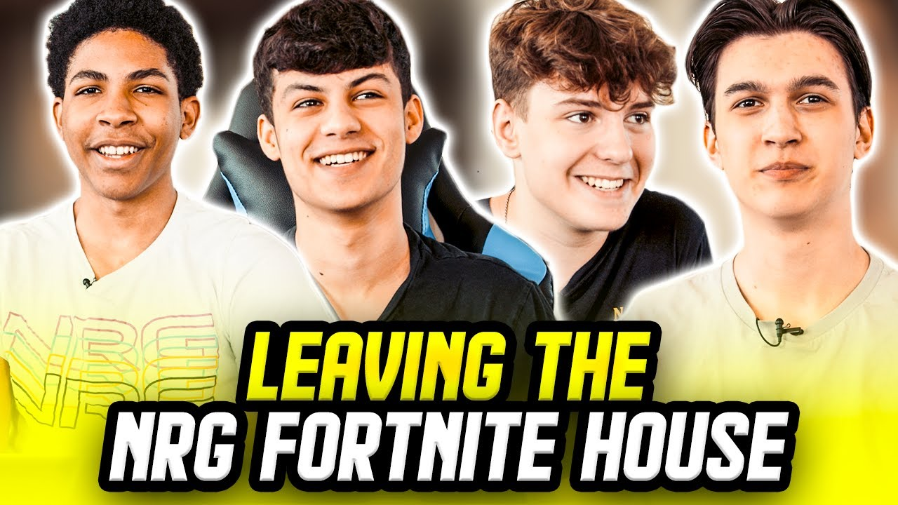 NRG Fortnite House Final Goodbye | Best Moments of Clix, Ronaldo, Edgeyy, Unknown
