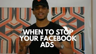 When to Kill Your Facebook Ads