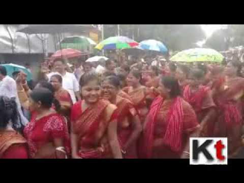 Firhad Hakim Inaugurates Journey to Bhukailash Shiva Temple to Pour Water