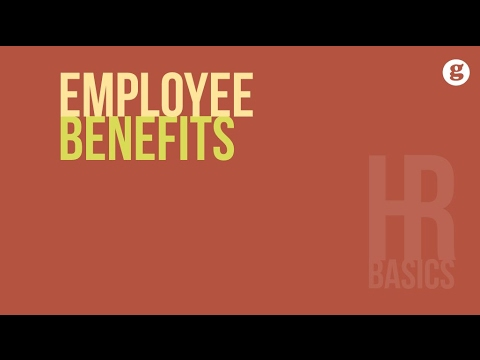 HR Basics: Employee Benefits