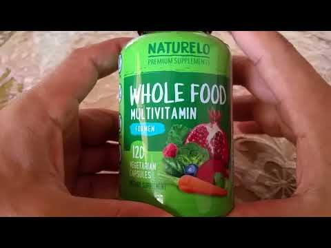 Naturelo - Whole Food Vitamin for Men Supplement Review