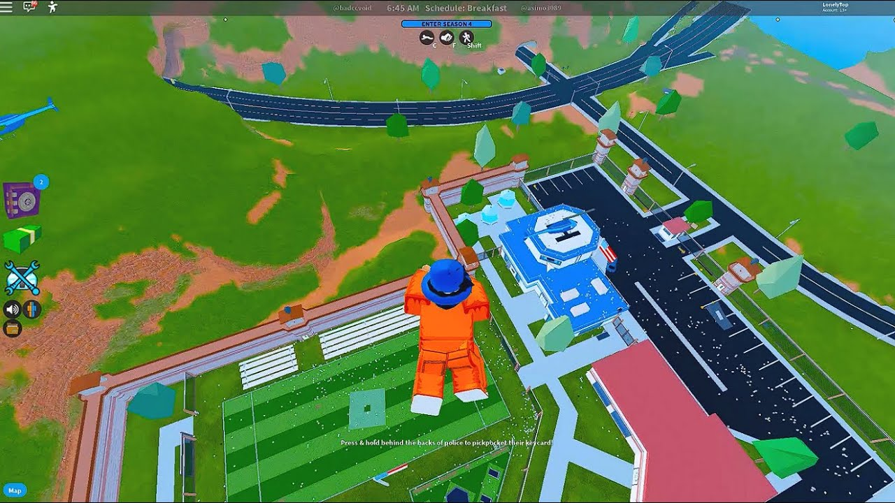 ROBLOX JAILBREAK EASIEST & FASTEST way to escape!