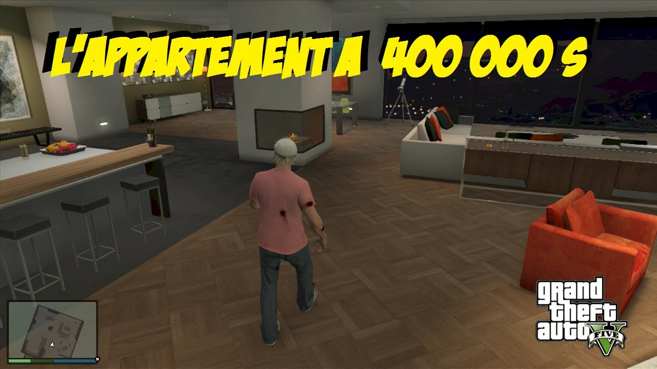 GTA 5 Lappartement A 400 000 Dollars YouTube