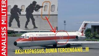 Menegangkan, Detik Detik Kopassus Bebaskan Sandera dari Pesawat Garuda di Thailand