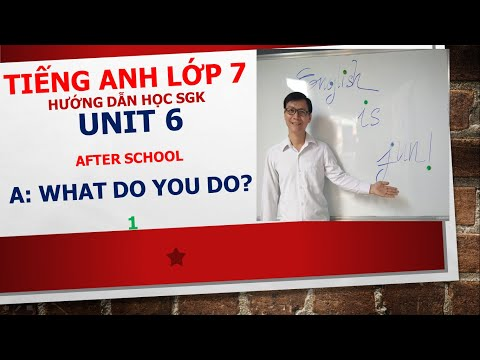 Tiếng Anh lớp 7 - Học SGK - Unit 6: After school - A: What do you do? - 1