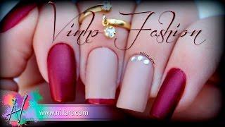 Nail Art Vinho Fashion - Nill Art