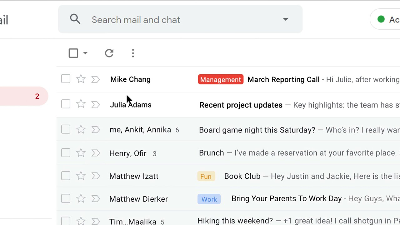 How to: Mark an email as important in Gmail
