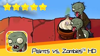 Plants vs  Zombies™ HD ROOF Level 06 Day2 Walkthrough The zombies are coming! Recommend index five s