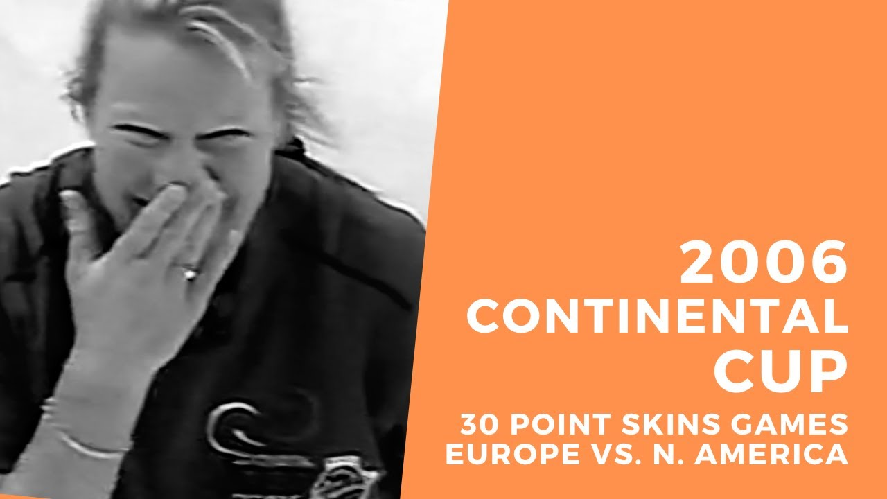 2006 Continental Cup of Curling  - 30 Point Skins - Schöpp v. McCormick & Uusipaavalniemi v. Fenson