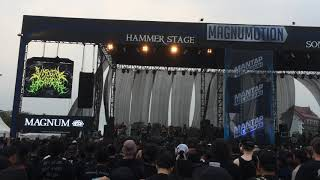 VISCERAL DISGORGE Live in Hammersonic Jakarta, Indonesia 2018