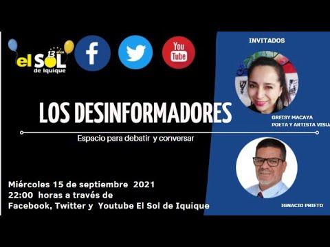 Los Desinformadores miércoles 15 septiembre