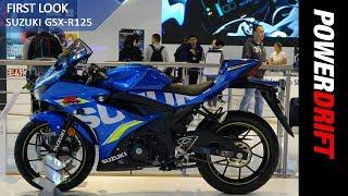 2018 Suzuki GSX R125 : EICMA 2017 : PowerDrift