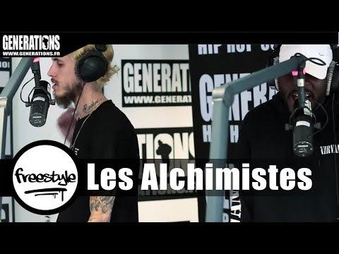 Youtube: Les Alchimistes – Live«Intro» (Live des studios de Generations)