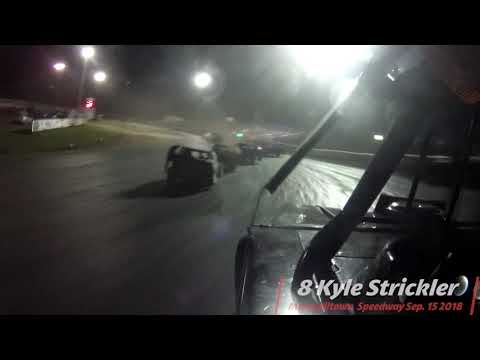 Check out this onboard of 8 Kyle Strickler IMCA Modified at Marshalltown Speedway World Nationals
