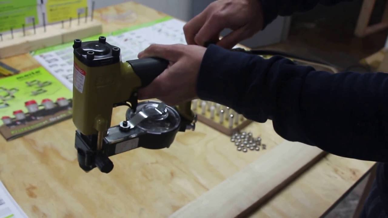 How To Use Meite Zn 12s Automatic Decorative Tack Nailer Youtube