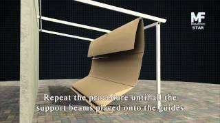 "Retractable Roof Pergola ""star"" - Installation"