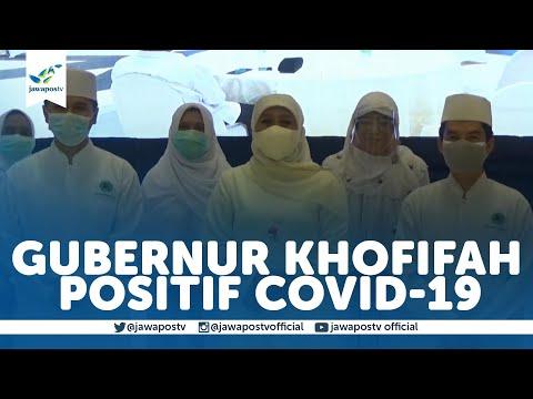 Gubernur Jawa Timur Positif Covid-19