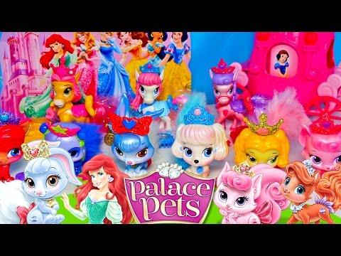 Animais das Princesas Disney Palace Pets Coleção Completa em Português Episodios Completos
