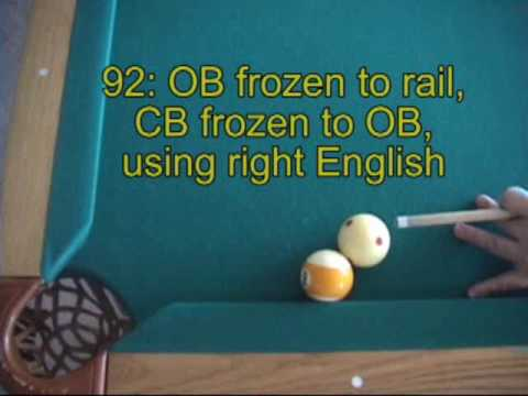 Pool Rules Quiz Instruction - Part 4: balls frozen to rails (NV B.63)