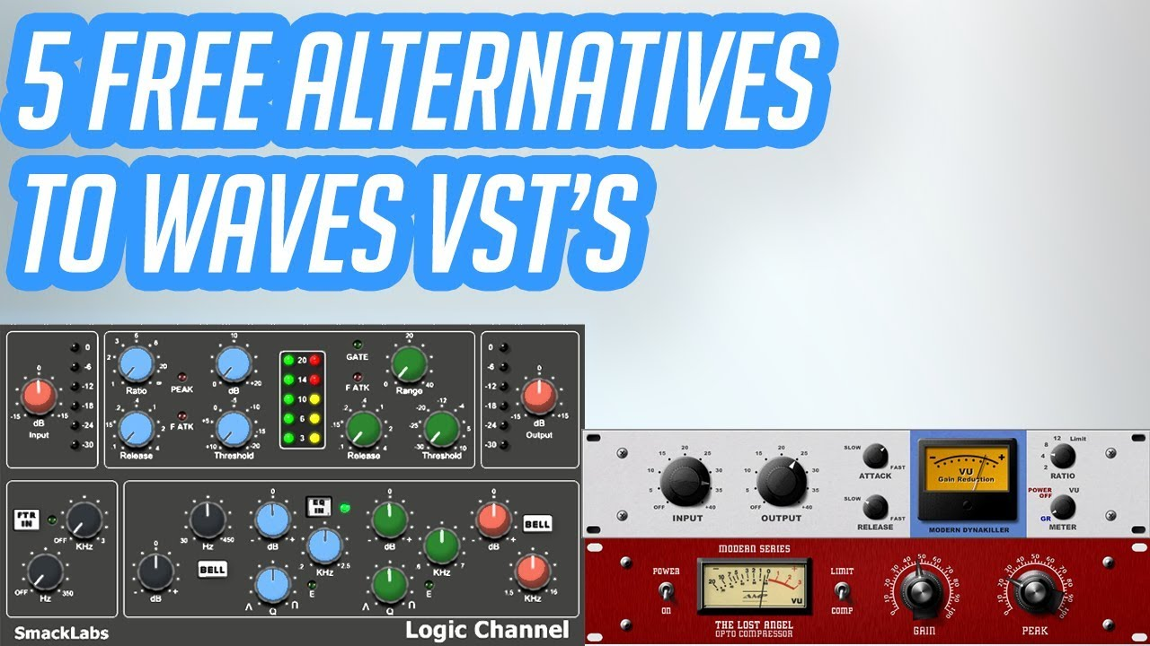 5 FREE VST's similar to Waves Plugins (For Vocals)