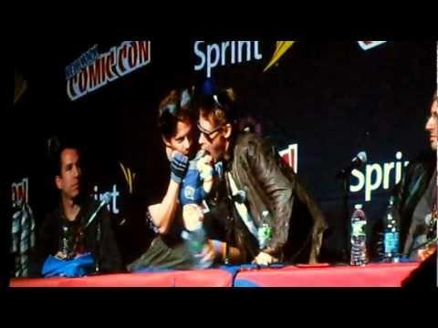 Seth Green and Macaulay Culkin @ Robot Chicken Panel - 2011 New York Comic Con 10.14.2011