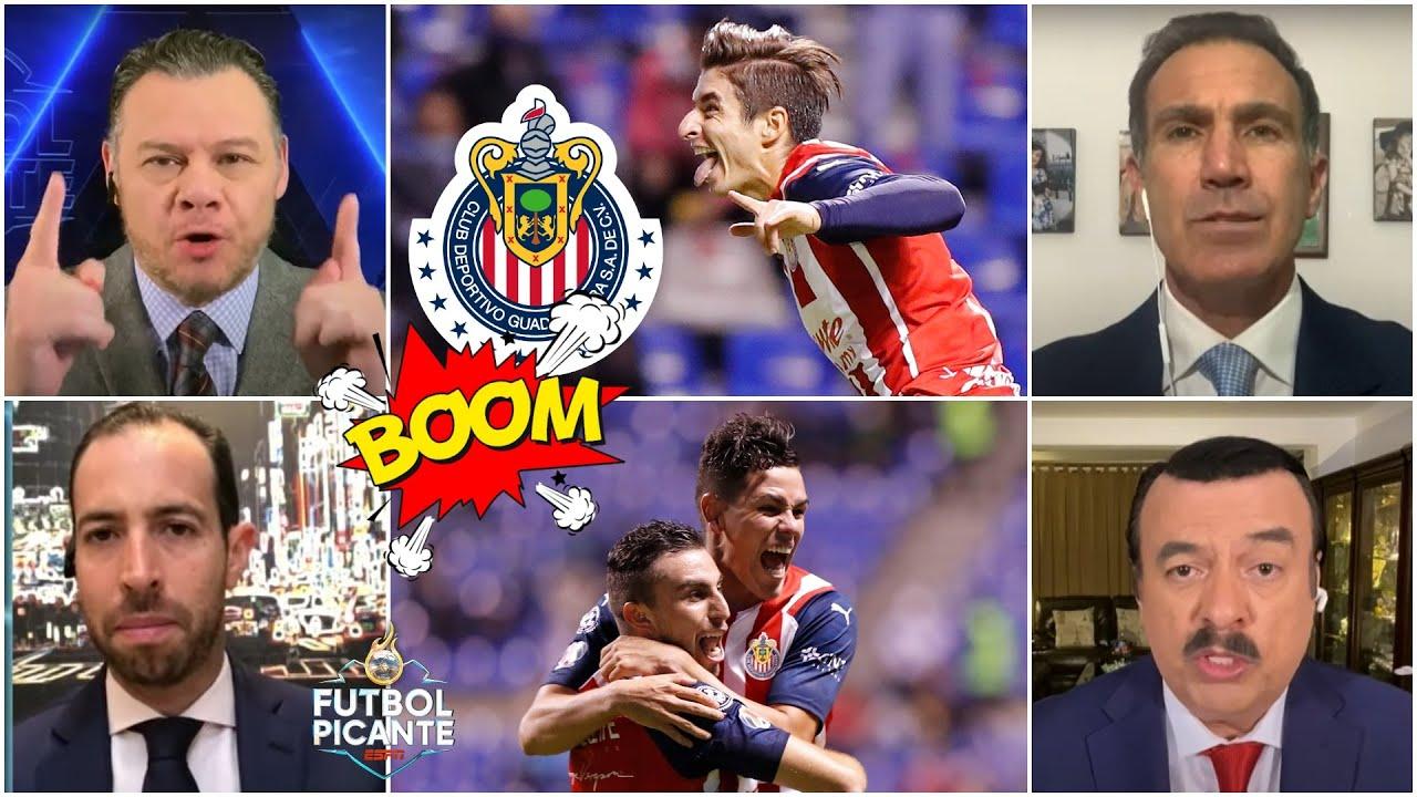 ANÁLISIS Las CHIVAS celebran su primer triunfo del Apertura 2021 al vencer a PUEBLA   Futbol Picante