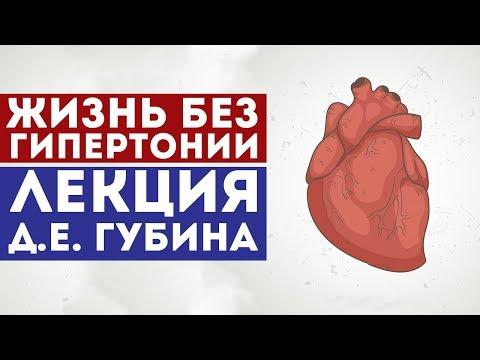 Жизнь без артериальной гипертонии - Лекция Д. Е. Губина