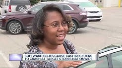 Target registers crash nationwide due to software issues