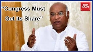Mallikarjun Kharge Says Congress Must Get Its Due Share In Karnataka Cabinet