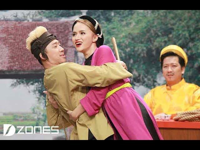 Trấn Thành Ôm  Hương Giang Idol Rồi Phán