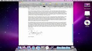 Mac Software: Autograph