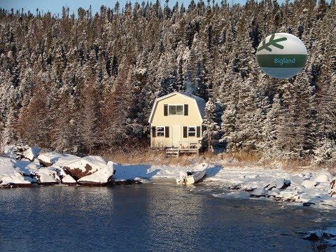 (Tour)  My First Hunting, Fishing & Trapping Cabin   ..!!