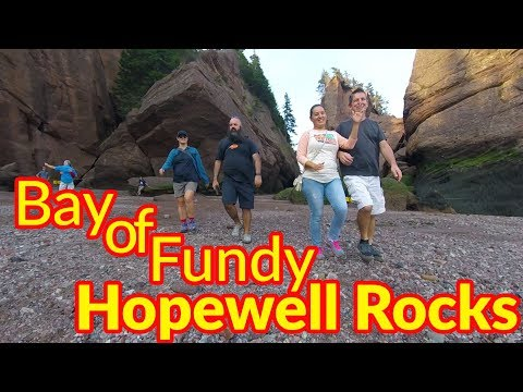 Full Time RV Living | Solar Eclipse / Hopewell Rocks / Bay of Fundy | S2 EP109