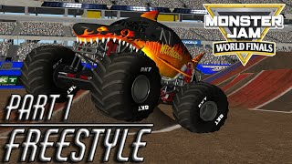 Rigs of Rods Monster Jam: World Finals XX 32 Truck Freestyle Part 1 (Breakable)