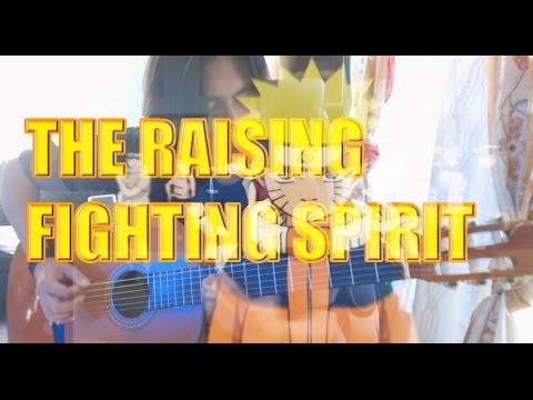 The Rising Fighting Spirit Guitarra Fingerstyle Tutorial Naruto !!!!!!!