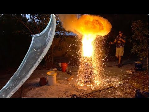 Making a Sword with THERMITE!
