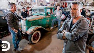 Restauración de camioneta Ford modelo B de 1933 | El Dúo mecánico | Discovery Latinoamérica