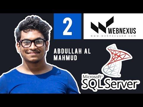 SQL Server Bangla Tutorial - 02 | Create And Drop Database
