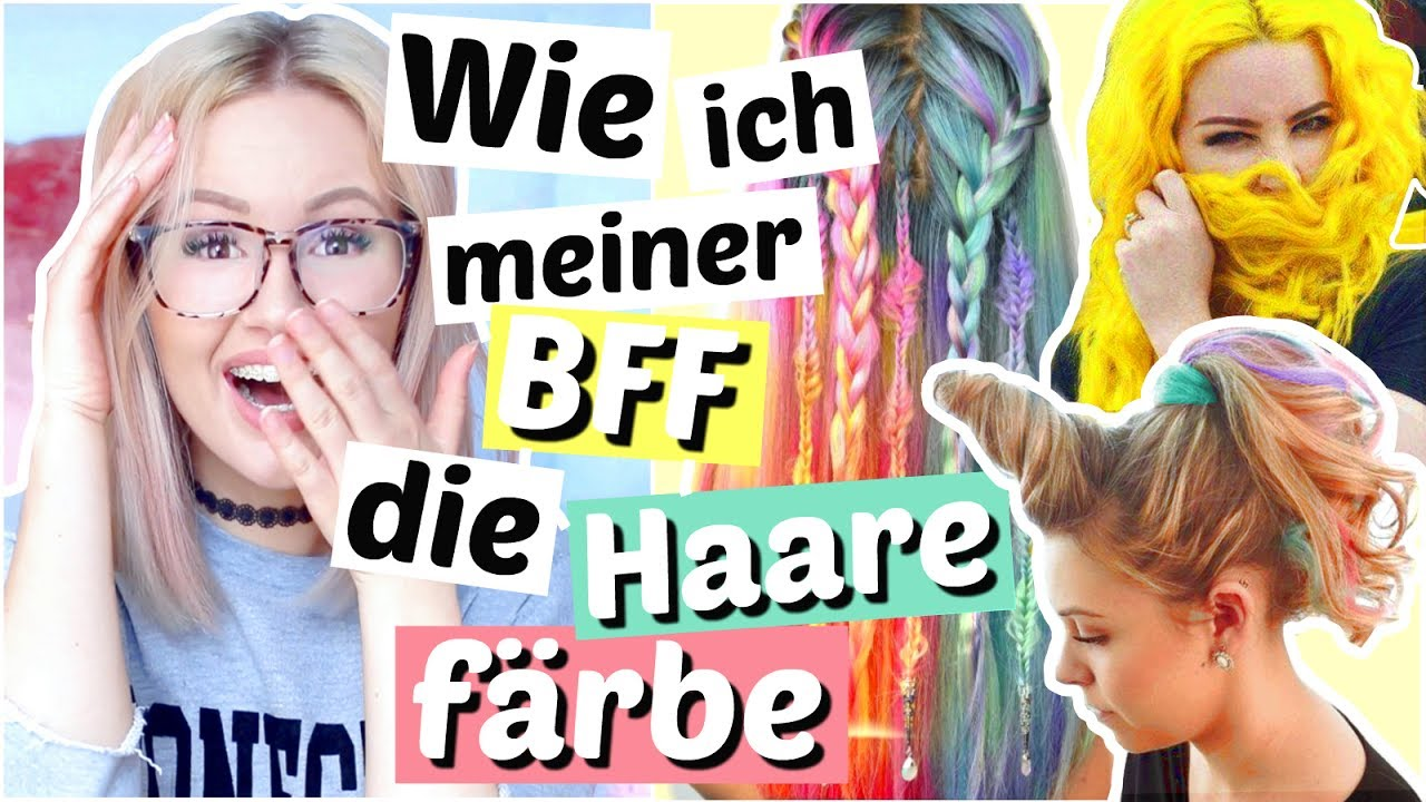 ihr entscheidet wie ich meiner bff die haare f rbe viktoriasarina youtube. Black Bedroom Furniture Sets. Home Design Ideas