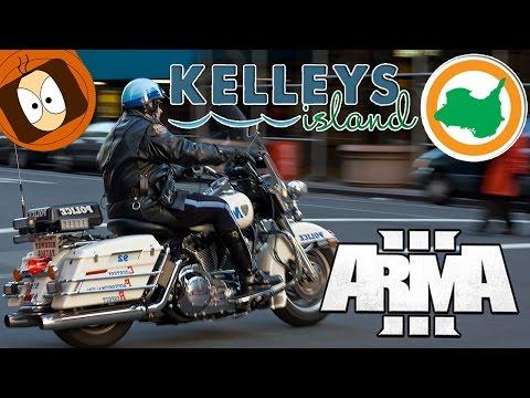 LIFE ISLAND   POLICE MOTARD : KELLEY'S HIGHWAY PATROL !   ARMA 3