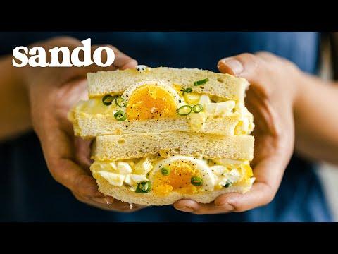 The Japanese EGG SALAD SANDWICH Recipe! How to make the popular Egg Salad Sandwich